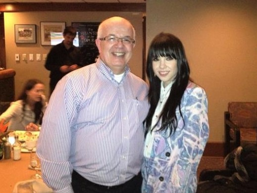 Carly Rae Jepsen at Memories Dining & Bar..
