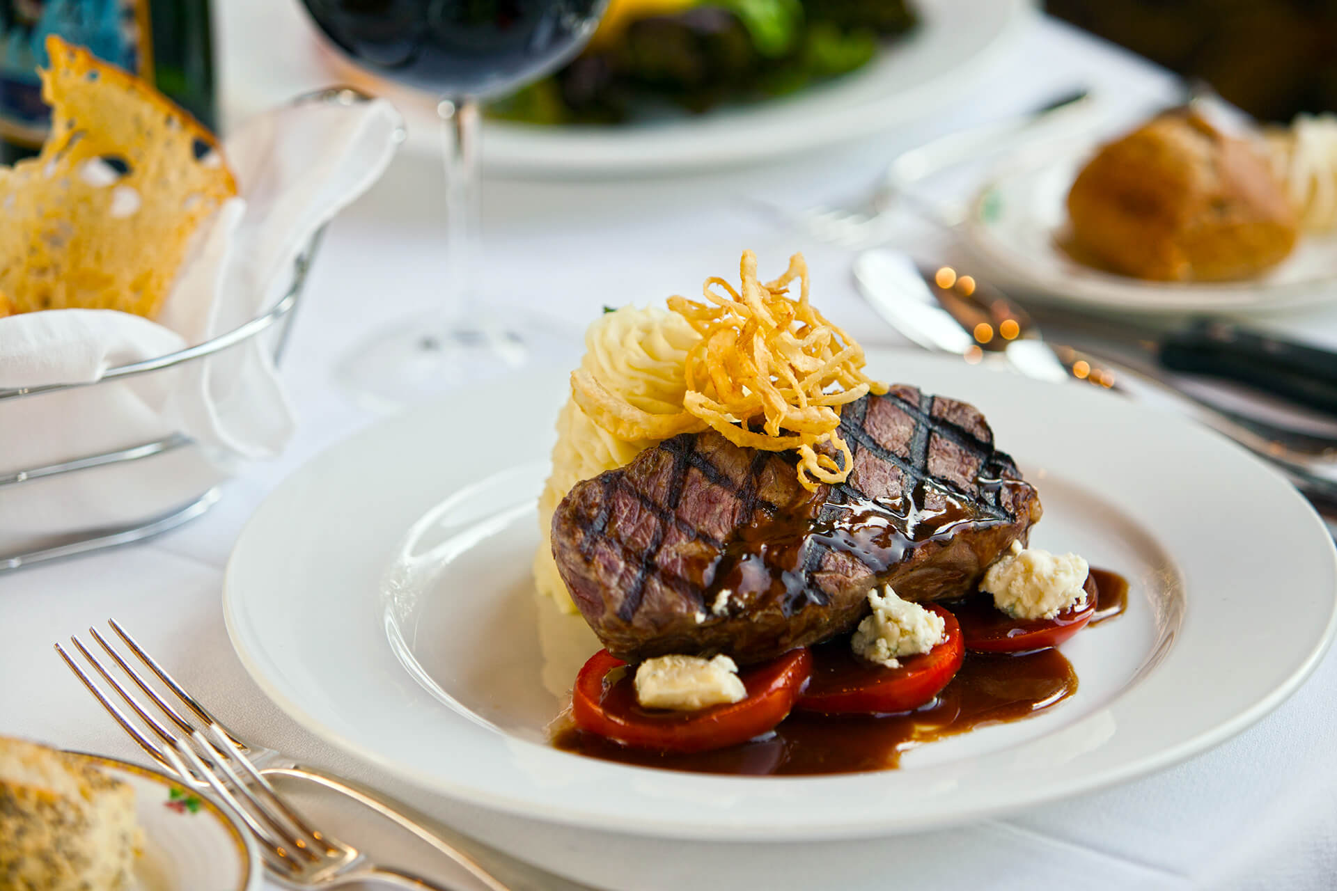 We're the best steakhouse and Greek restaurant in town.