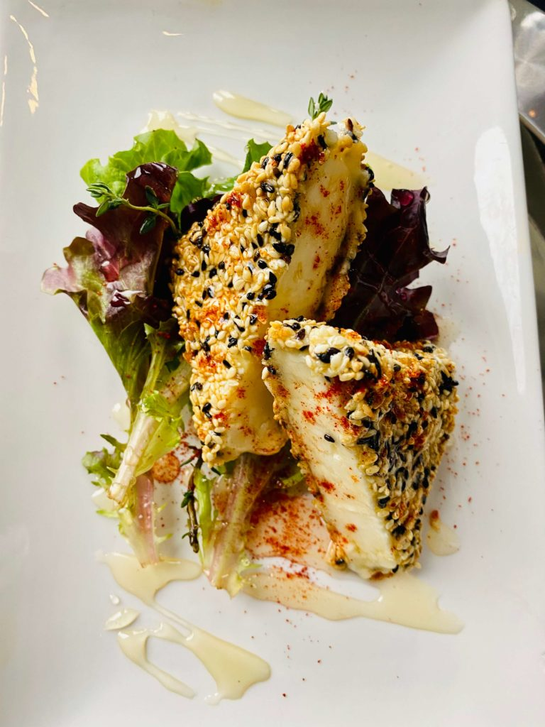 Baked Feta Cheese with Thyme